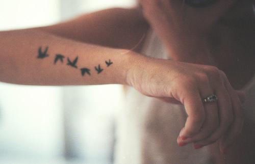 Cute Tattoo Ideas For Girls Wrist Tattoos Tumblr Girly Hipster