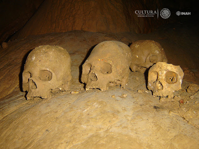 7,000-year-old skeletons discovered in Mexican cave