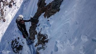 Monte Cevedale per Martellerhütte: Skitour mit Spaltensturz