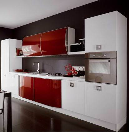 Cocinas lineales las ms comunes  Cocinas con estilo