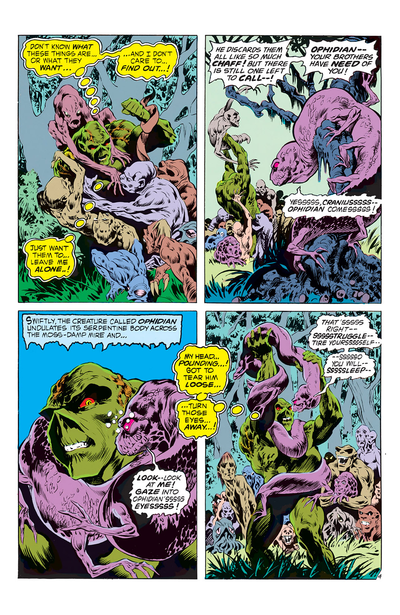 Swamp Thing (1972) Issue #2 #2 - English 5