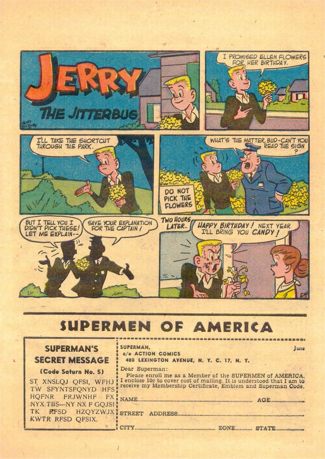 Read online Action Comics (1938) comic -  Issue #181 - 32