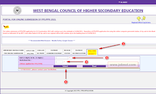 WBCHSE PPR PPS Result