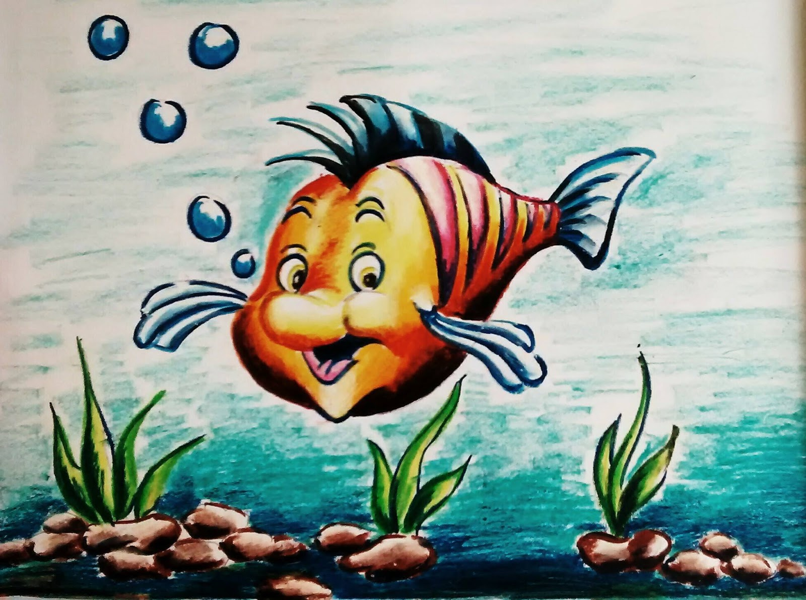 fish drawing pictures kids colored bird pencil drawing fish drawing pictures kids colored