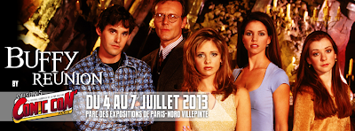 Buffy Reunion Comic Con Paris 2013