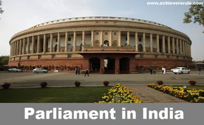Parliament in India: SSC Railway IB Notes