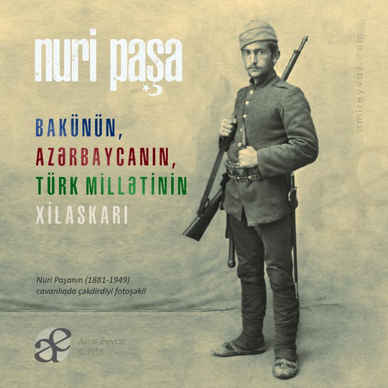 Нури-паша (1881-1949) в молодости