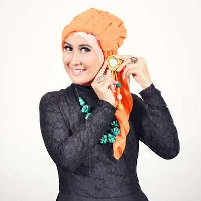 Model hijab turban modern cantik menawan image