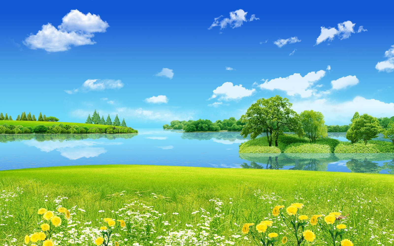 nature dream wallpapers backgrounds background dreams dreamy tag desktop yellow