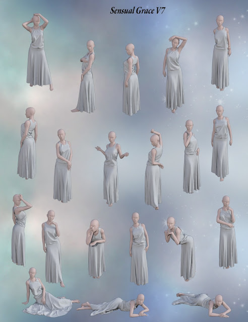 Isidora Dress for Genesis 3 Female