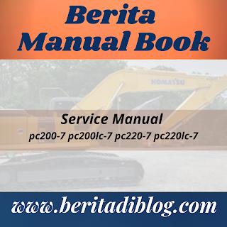 Service Manual pc200-7 pc200lc-7 pc220-7 pc220lc-7
