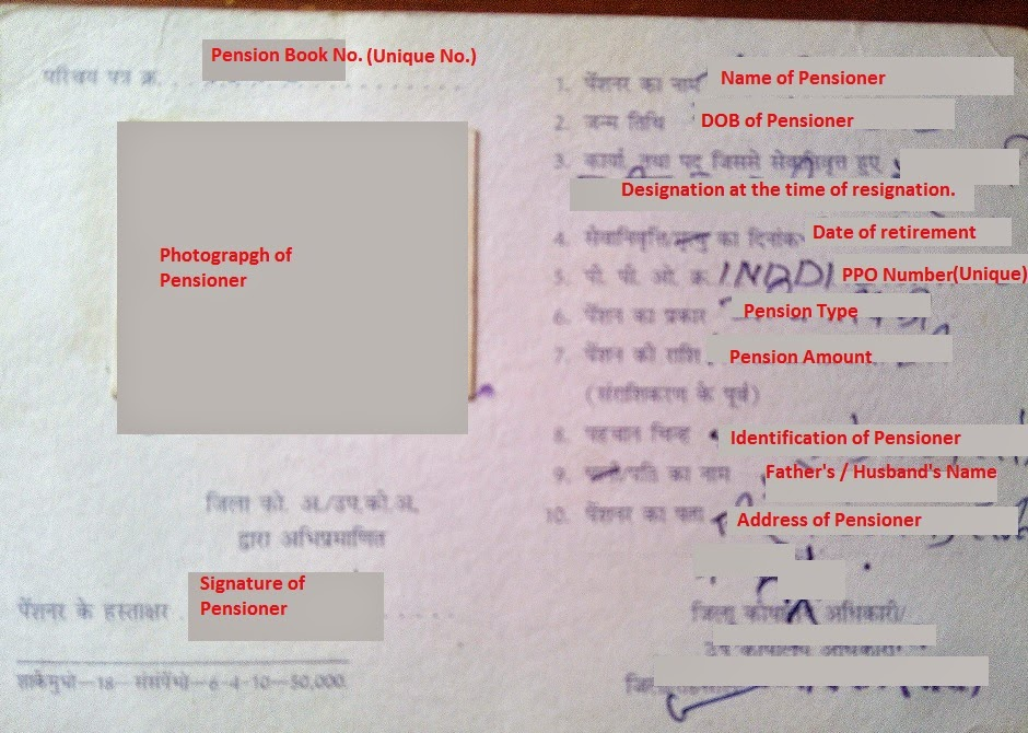 how to fill pensioner life certificate