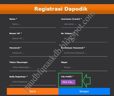 Ada Dua Cara Registrasi Dapodik PAUD Terbaru V.3.0.0