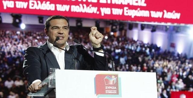 Παρουσίαση του Ευρωψηφοδελτίου ΣΥΡΙΖΑ - Προοδευτικής Συμμαχίας από το Αλ. Τσίπρα (vid)
