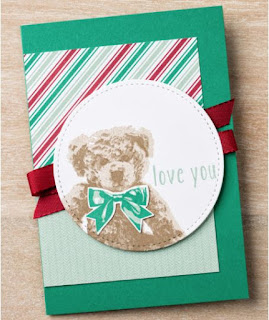 Stampin' Up! Baby Bear -- 25% Off in November 2016