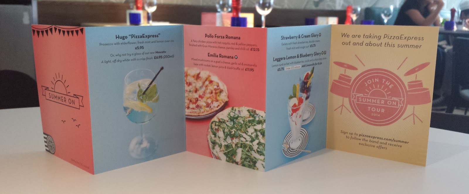 Lifestyle New Summer Menu At Pizza Express South Woodford