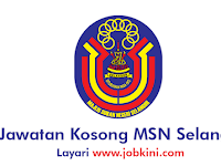 Kekosongan Terkini di Majlis Sukan Negeri Selangor - Kelayaka PMR & Ijazah