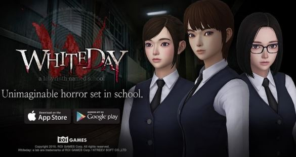 cara download game the school white day