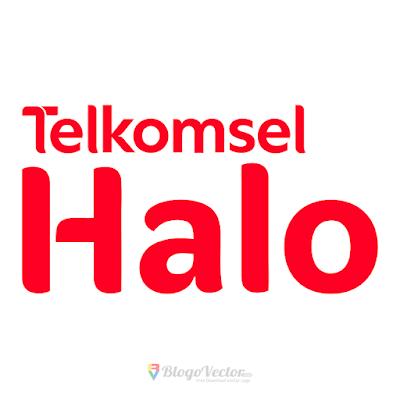 Telkomsel Halo Logo Vector