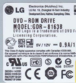 How To Install The LG DVD-ROM Drive GDR-8163B To Xbox 1