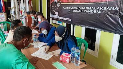 Ratusan Masyarakat dan Pelaku Usaha di Wisata Negeri Diatas Awan Ikuti Vaksinasi
