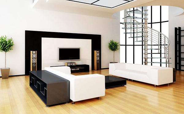 Kumpulan Desain Meja dan Rak TV Minimalis Terbaru Yang Elegan 007