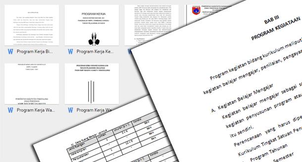 Program Kerja Wakil Kepala Sekolah SMP Bidang Kurikulum dan Kesiswaan