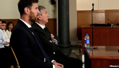 "The judge declares: ""No prison for Messi"""