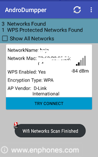 androdumpper : hack wifi password on android without root?