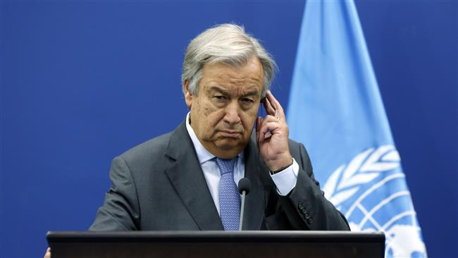 "UN Secretary General Antonio Guterres voices worries over North Korea situation as world's worst crisis in ""years"""
