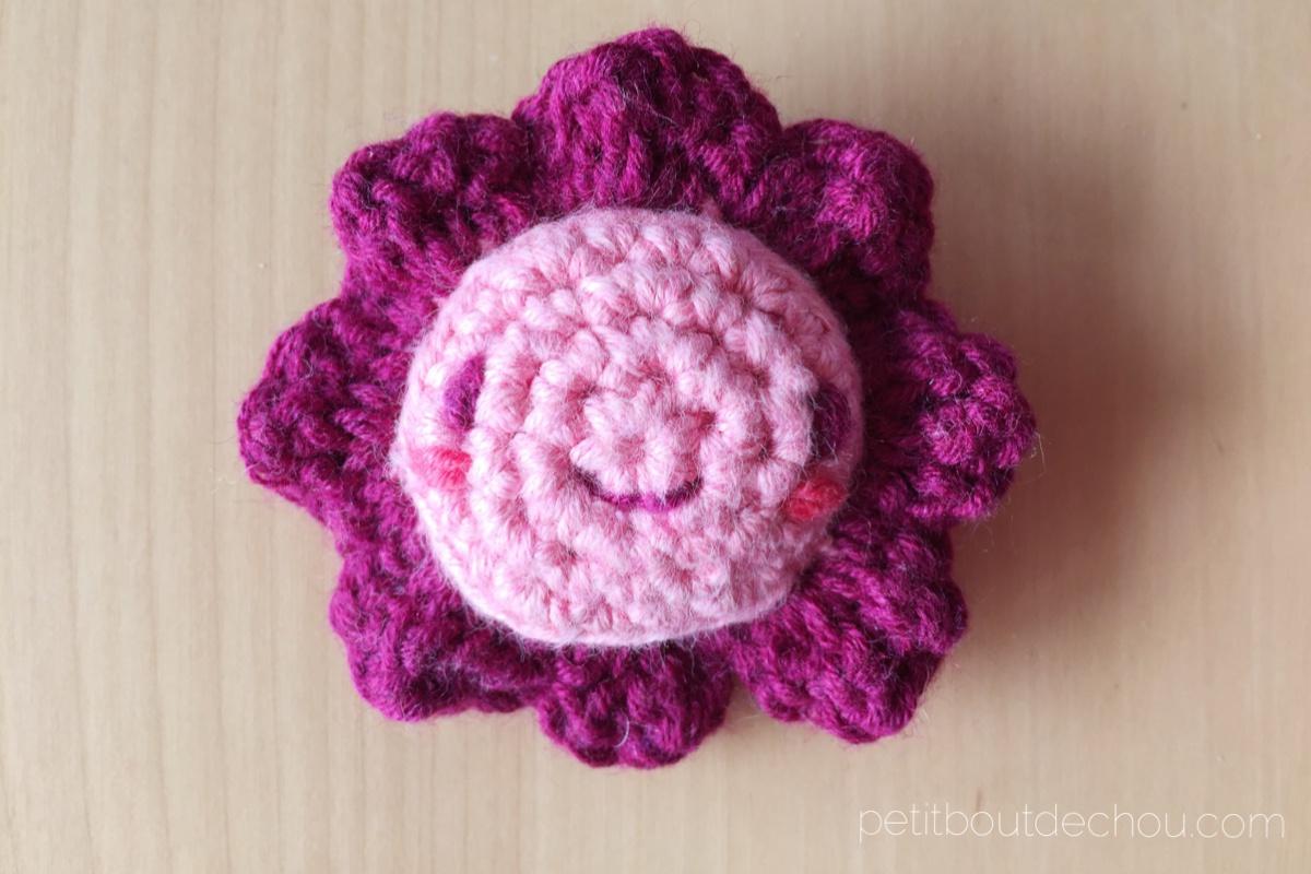 Amigurumi Flower : Crochet kawaii amigurumi flower petit bout de chou