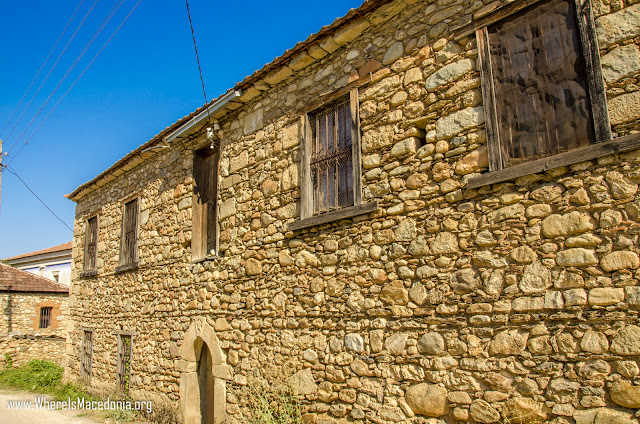 Traditional architecture - Ljubojno village, Prespa Region, Macedonia