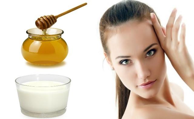 #الحليب _والعسل لتبييض الوجه