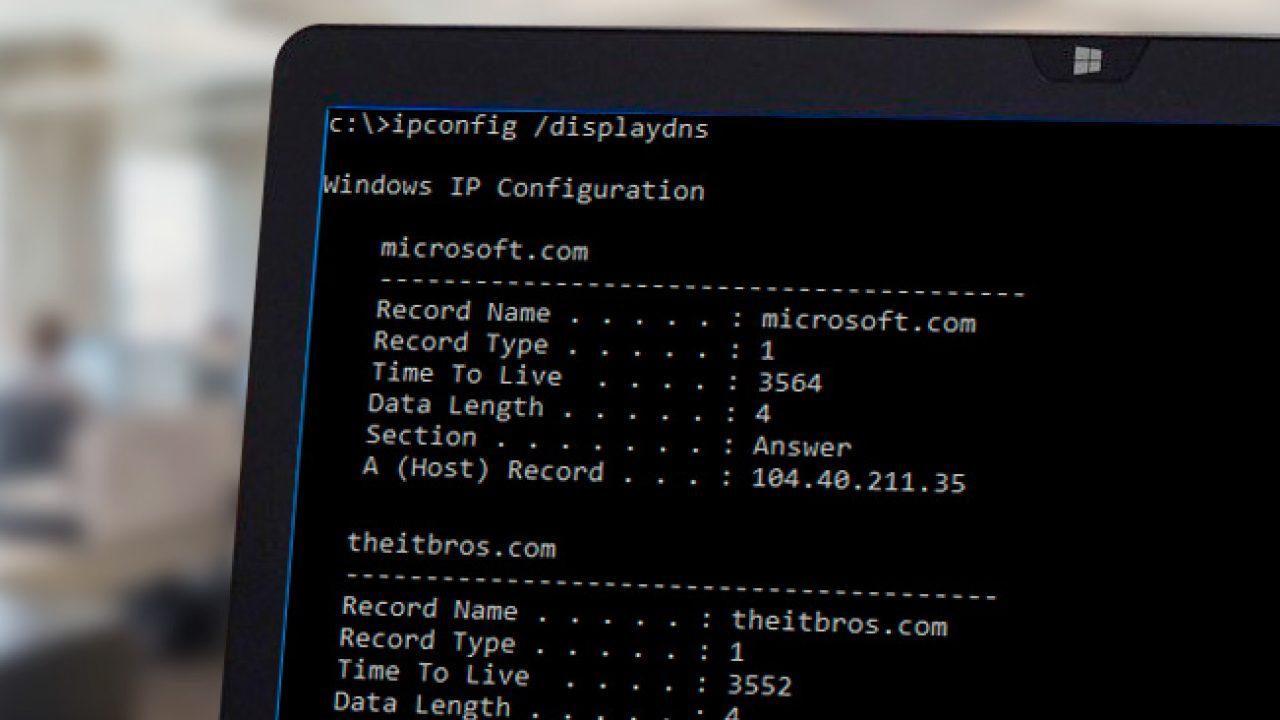 Десктопный DNS кэшер под windows