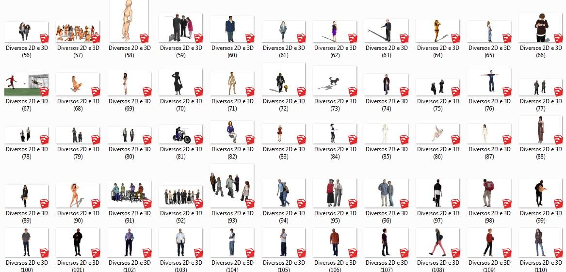 Bloco Sketchup   Autocad - R$ 13,90 em Mercado Livre