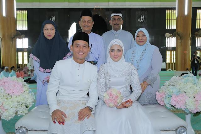 Majlis akad nikah Fasha dan Aidil
