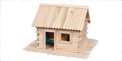 บ้านไม้ไอติมน่ารักๆ