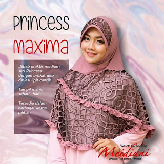 Jilbab Medium Princess Maxima