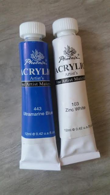 blog-paznokcie-malowane-wlasnorecznie-jak-malowac-farby-akrylowe-phoenix-niebieski-443-ultramarine-blue-biel-103-zinc-white-12ml