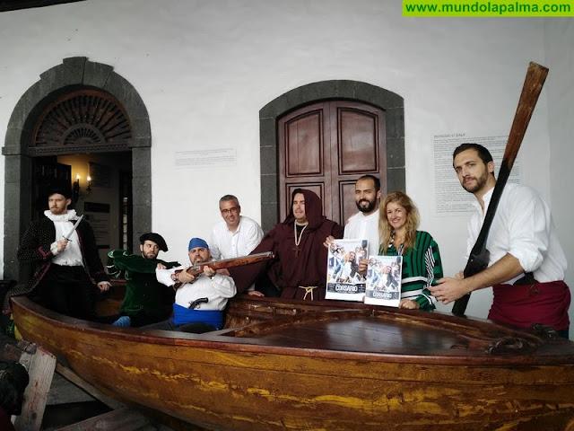 Los corsarios de Pata de Palo y las tropas de Baltasar Martín se preparan desde ya para luchar por Santa Cruz de La Palma