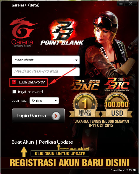 Cara Reset Lupa Password Pb Zepetto Point Blank Indonesia Mas Rudi