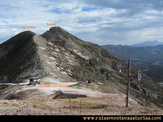 Ruta Pico Toneo y Peña Agujas: Collada Las Agujas