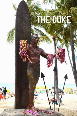 The Duke, Waikiki Beach, Honolulu, Hawaii