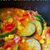 Gulasz z cukinią, papryką i pomidorami wg 5 Przemian