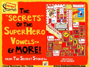 Secret Stories® Phonics Superhero Vowels® Bundle & MORE!