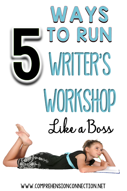 If you're getting started with writer's workshop, you might find these five tips helpful to organizing your writing block. Freebie included
