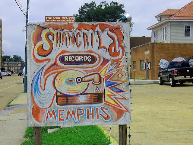 Shangri-La Records - Sign - Memphis, Tennessee