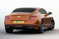 Bentley Continental GT Speed Black Edition (2017) Rear Side