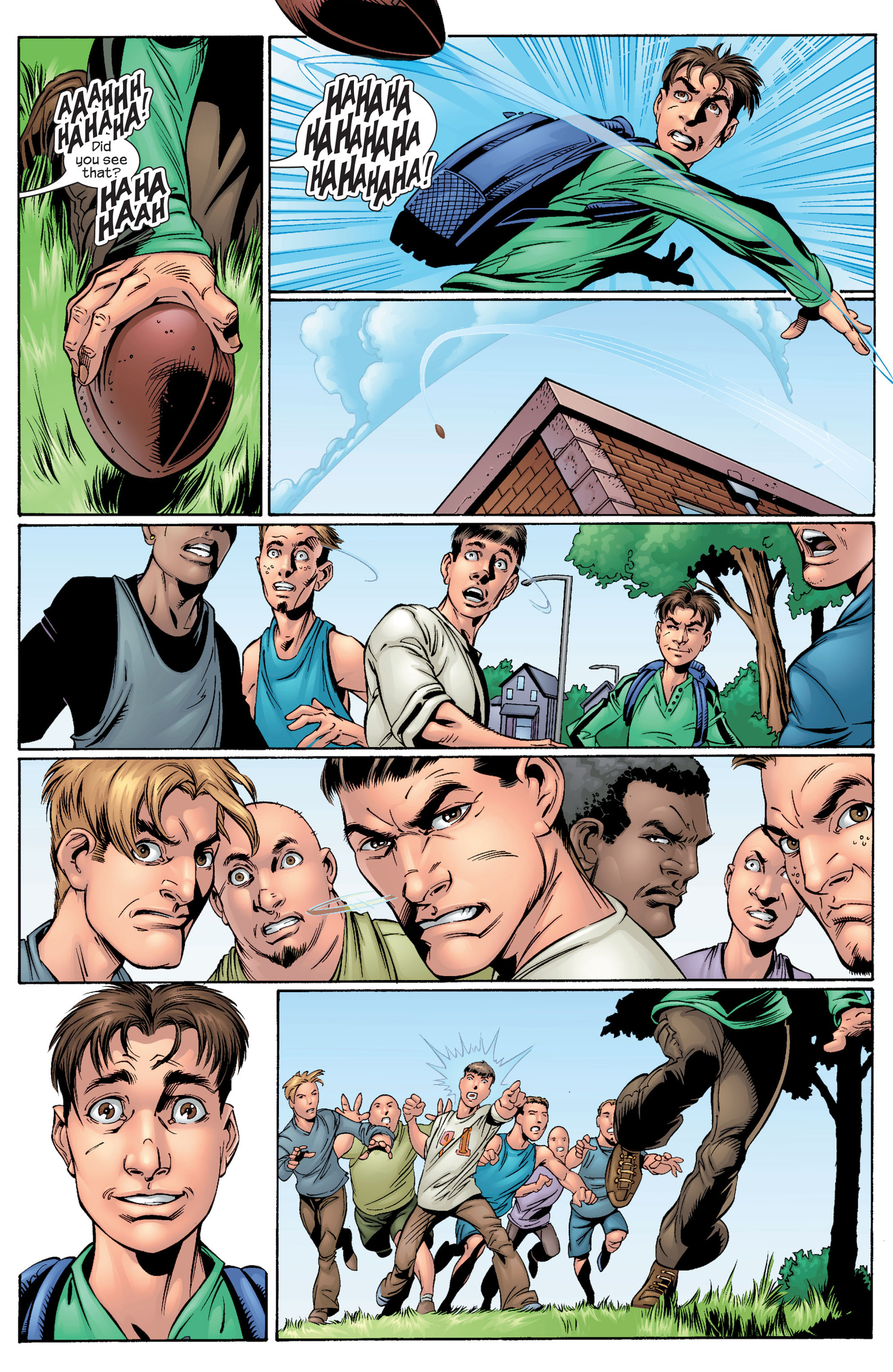 Read online Ultimate Spider-Man (2000) comic -  Issue #28 - 18