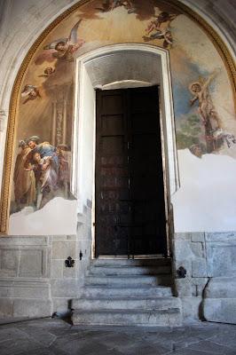 Frescos de la puerta del Mollete